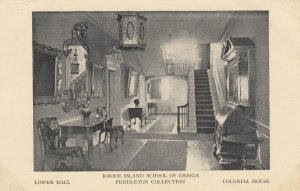 PROVIDENCE , R.I., 1910s ; School of Design, Lower Hall , Colonial House