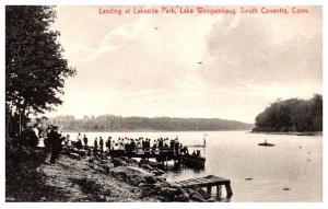 Connecticut South Coventry ,  Lake Wangumbaug , Landing at Lakeside Park