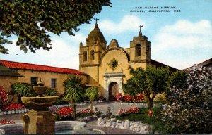 California Carmel San Carlos Mission