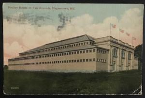 Poultry House on Fair Grounds Hagerstown Md 1918 The Leighton & Valentine Co