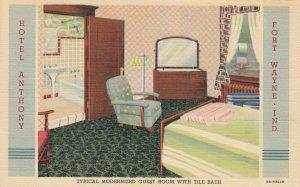 FORT WAYNE , Indiana , 1930-40s ; Hotel Anthony