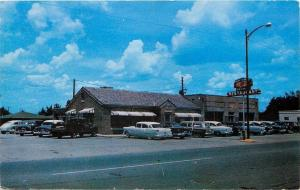 Sylacauga Alabama~Old Hickory Restaurant~AJ Tully Kiwanis Club~NICE 1950s Cars