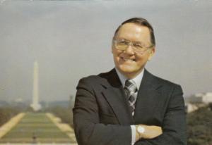 MICHIGAN, 1960s-70s; U.S. Senator Robert P. Griffin