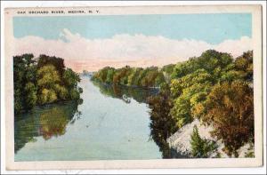 Oak Orchard River, Medina NY