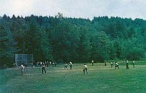 Lake Spofford NH, New Hampshire - Camp Notre Dame - Sports Baseball