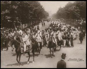 Austria 1908 Kaiser Franz Joseph Huldigungs Festival RPPC Burkowina Weddin 94839