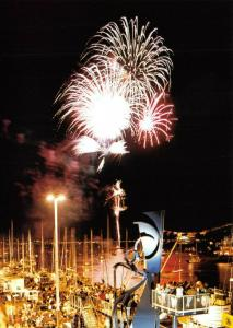 NEW Postcard, The Quay, Poole, Dorset, Fireworks, Sea Music, Summer, Holiday