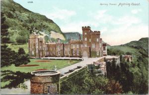 Garron Tower Antrim Coast Northern Ireland Postcard E33
