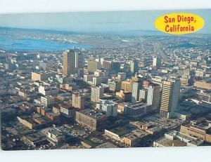 Pre-1980 AERIAL VIEW San Diego California CA A5264