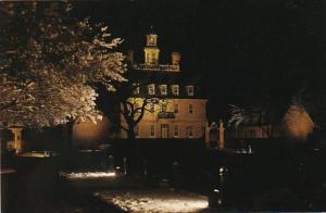 Virginia Williamsburg The Governor's Palace At Christmas