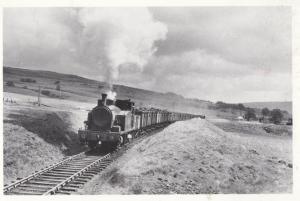 Dunaskin Washery Coal Train Waterside System Ayreshire Dalmellington Postcard
