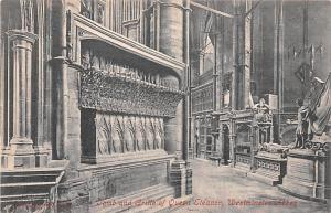 Westminster Abbey United Kingdom, Great Britain, England Tomb and Gritte of Q...