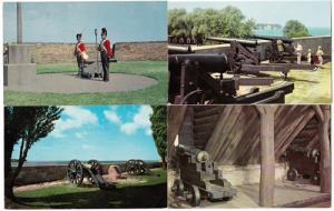 4 - Old Fort Niagara Canon Cards