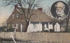 General Lees Headquarters Gettysburg Pennsylvania Postcard