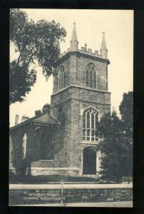 Taunton, Massachusetts/Mass/MA Postcard, Unitarian Church