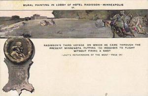 Mural Painting,Lobby of Hotel Radisson, Minneapolis,Minnesota,00-10s # VI