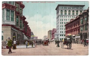 Oakland, California, Broadway