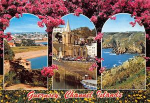 Channel Islands, Guernsey, Flowers, Multiviews