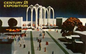 WA - Seattle, 1962. Seattle World's Fair (Century 21 Exposition). U.S. Scienc...