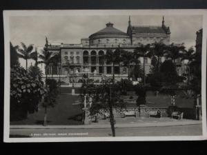 Brazil: São Paulo Parque Anhangabahu, Old RP Postcard