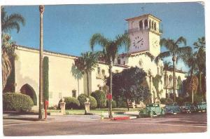 Santa Barbara County Courthouse, California, 40-60s