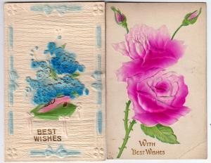 2 - Heavy Embossed Flowers