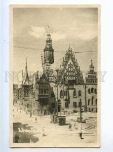 213667 POLAND WROCLAW Vintage photo postcard