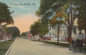 MOBILE , Alabama, 1912 ; St Joseph St.
