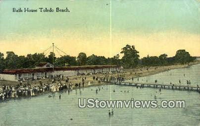 Bath House Toledo Beach Oh Unused