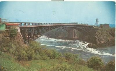 Canada, The Reversing Falls, Saint John, New Brunswick, 1...