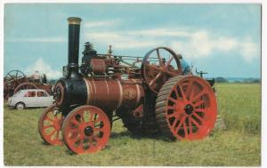 Steam; Marshall Agricultural Engine, Built 1887 PPC, 1970 PMK