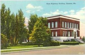 State Highway Building, Sikeston, Missouri, 1930-1940s