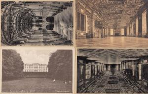 Frederiksborg Slot Denmark 4x Old Postcard s