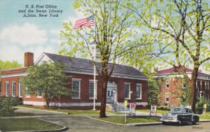 Post Office , ALBION , New York , 1930-40s
