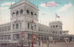New Jersey Atlantic City Entrance To Young's Million Dollar Pier 1913