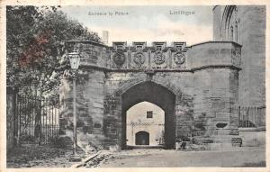 Scotland Linlithgow, Entrance to Palace (West Lothian) 1905