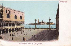 VENEZIA, Veneto, Italy, 1901-1907; Piazzetta E Isola Di San Giorgio