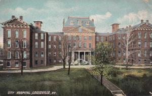 LOUISVILLE, Kentucky, 1912; City Hospital