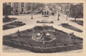 Charlottetown, P.E.I. Canada, PU-1947; Great George Street, looking North