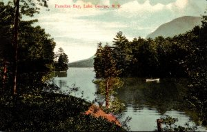 New York Lake George Paradise Bay 1909