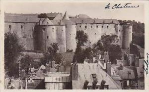 France Sedan Vue sur le Chateau Real Photo