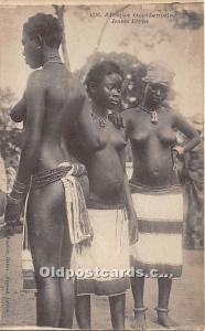 Afrique Occidentale Jeunes Ebries African Nude Unused
