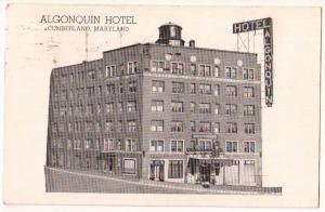 Algonquin Hotel, Cumberland MD