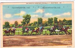 The Stretch, Race Tract, Saratoga Springs NY