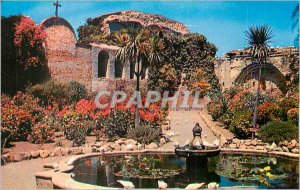 Modern Postcard Old Mission San Juan Capistrano Founder of the California Mis...