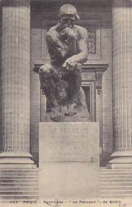 Pantheon Le Penseur, De Rodin, Paris France, PU-1909