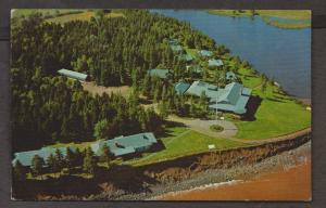 Aerial View Of Pictou Lodge & Cabins  Pictou, NS - 1970s Used Some Wear