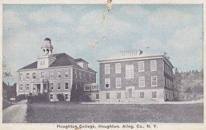 HOUGHTON, New York, 1900-1910s; Houghton College, Houghton Alleg. Co.