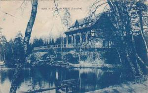 Hotel Et Etang De Hanau (Hesse), Germany, 1900-10s