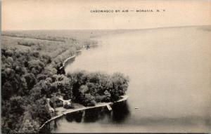 Moravia NY~Casowasco Airplane~Methodist Chapel~X Shoreline~Beach Property~c1940